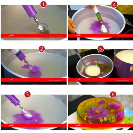 Želė tortų gaminimas